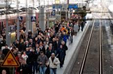 Huelga de Maquinistas en Alemania