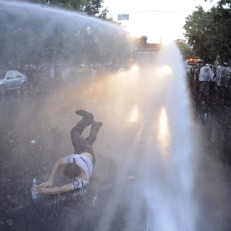 Thousands protest electricity price hike in Armenia capital Yerevan