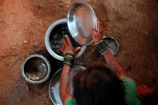 India is again facing the threat of a drought this year, with monsoon rains expected to be weaker than average. REUTERS
